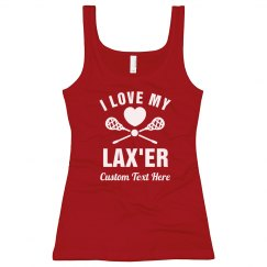 Girl Loves Her Lax Player