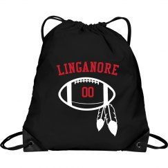 Red Cinch bag