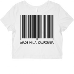 Made In Cali Barcode
