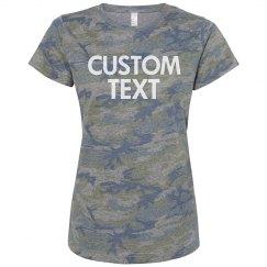 Create a Custom Camo T-Shirt
