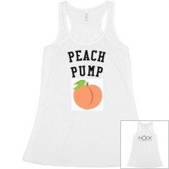 Peach Pump Tank