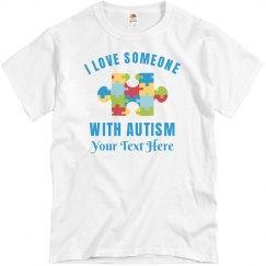 Autism Awareness & Love Custom Dad