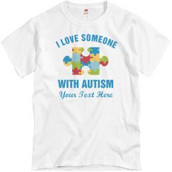 Autism Awareness & Love Custom Dad