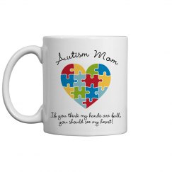 Full Heart Autism Mom Gifts