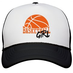 Basketball Girl's Hat