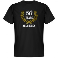 50 years golden anniversary