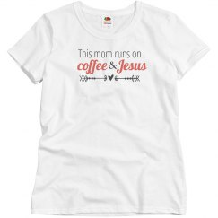 Coffee & Jesus (coral)