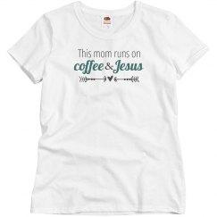 Coffee & Jesus (teal)