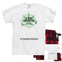 FNE PAJAMA SET- Green