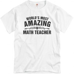 Amazing Math Teacher