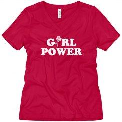 Girl Power Trendy Boyfriend Tee