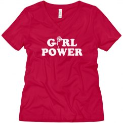 Girl Power Trendy Boyfriend Tee