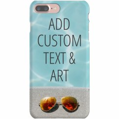 Custom iPhone Cases With Text & Art