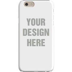 Custom Art & Text iPhone Cases