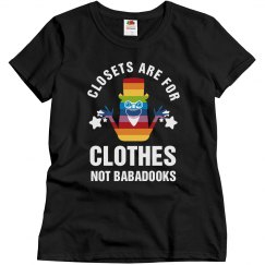 Babadook Queer Icon Gay Pride Shirt