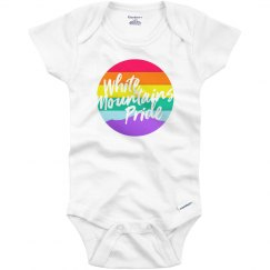 White Mountains Pride Onesie