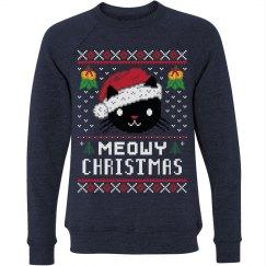 Meowy Christmas Cat