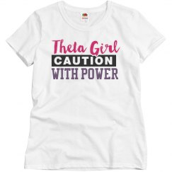 Theta girl with power