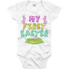Pink First Easter