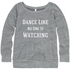 No One Watching Dance