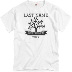 Family Reunion Tree Custom Tee