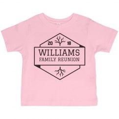 Customizable Family Reunion Shirts