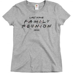 Custom Family Reunion Text Parody