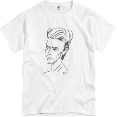 David Bowie Fruit of the Loom T