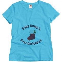 Christmas Maternity Tshirt