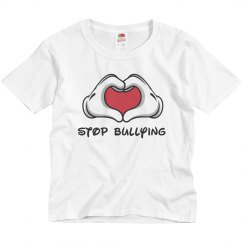 Stop Bullying Hand Sign