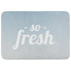 So Fresh Bath Mat
