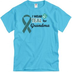 I Wear Teal For
