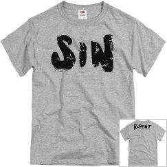 SIN and Repent MEN'S Tee