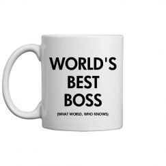 World Best Boss Somewhere