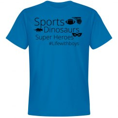 Sports, Dinos, Superheros (Soft Unisex)