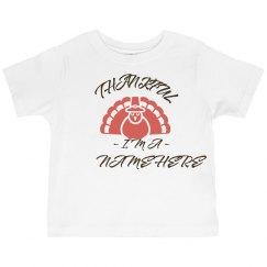 Thankful Custom Family Name Turkey
