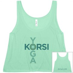 Korsi - Find your center (flowy crop top)