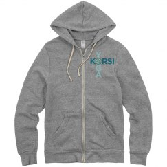 Korsi - Find your center (Unisex Sweatshirt)