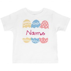 Custom Name Easter Toddler Tee