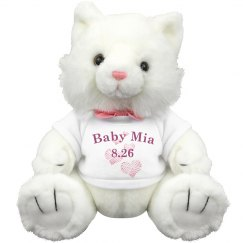 Baby Mia Pink Kitty