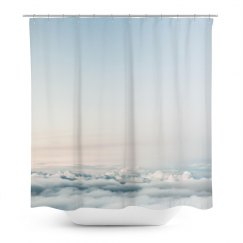 Sky Print Trendy Shower Curtain