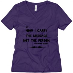 Carry the message tee