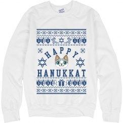 Happy Hanakkat White