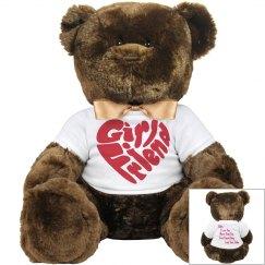 Aubrey K. Morgan Girlfriend Teddy Bear
