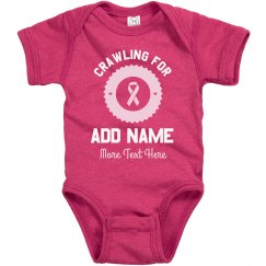 Baby Crawling For Breast Cancer