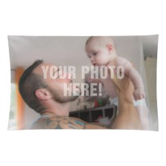 Custom Family Photo Pillow