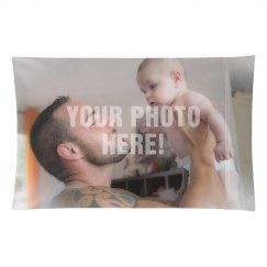 Custom Family Photo Pillow