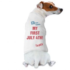 Puppy's First July 4th!