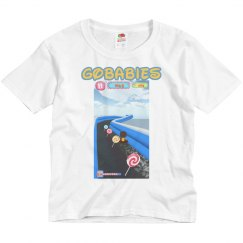 GOBABIES YOUTH BASIC FRUIT OF THE LOOM TEE