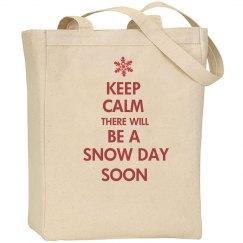 Teacher Snow Day Bag